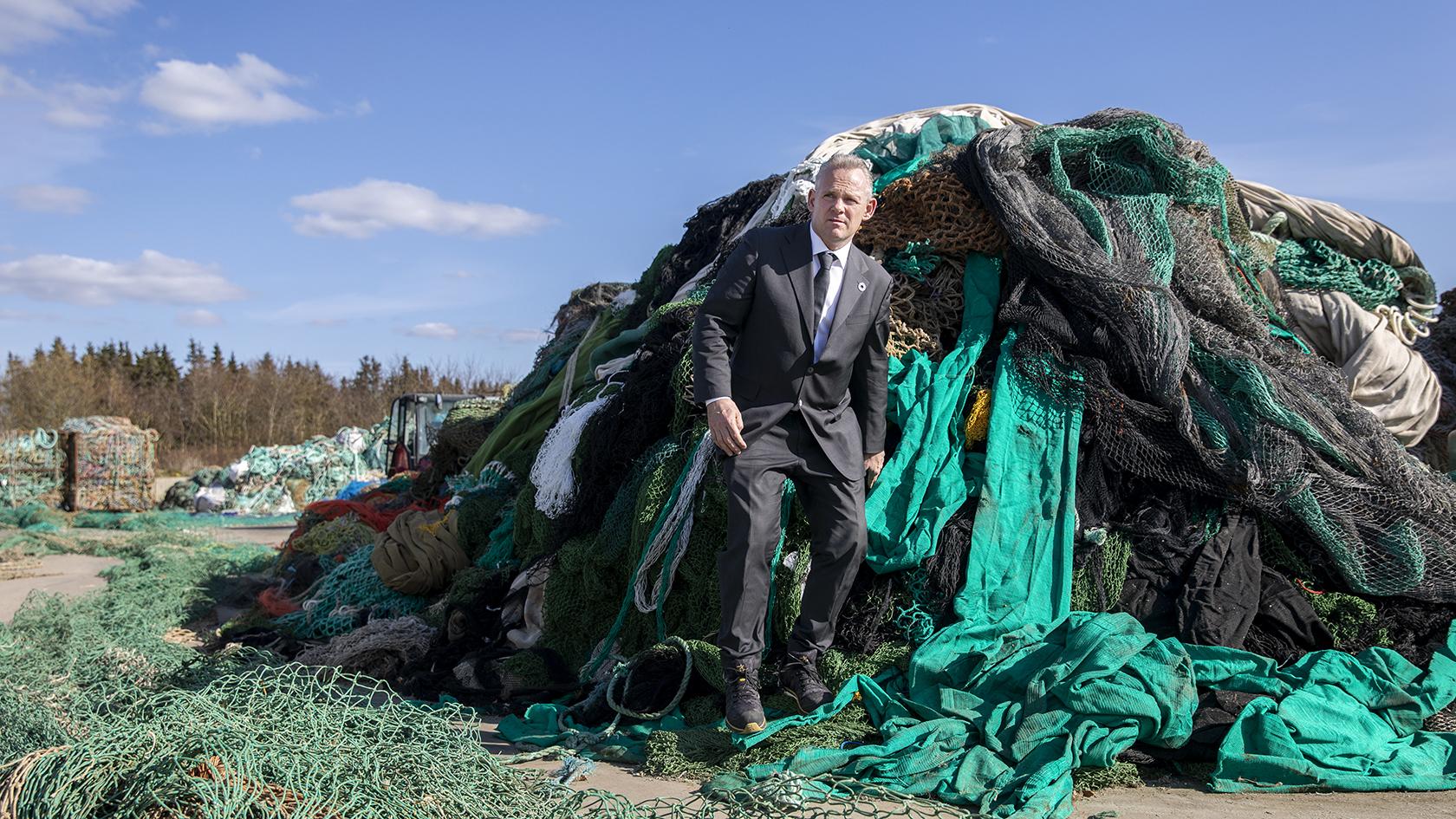 Direktør Hans Axel Kristensen har en mission; Danmark skal være verdensmstre i grøn omstilling, også i grøn plast.