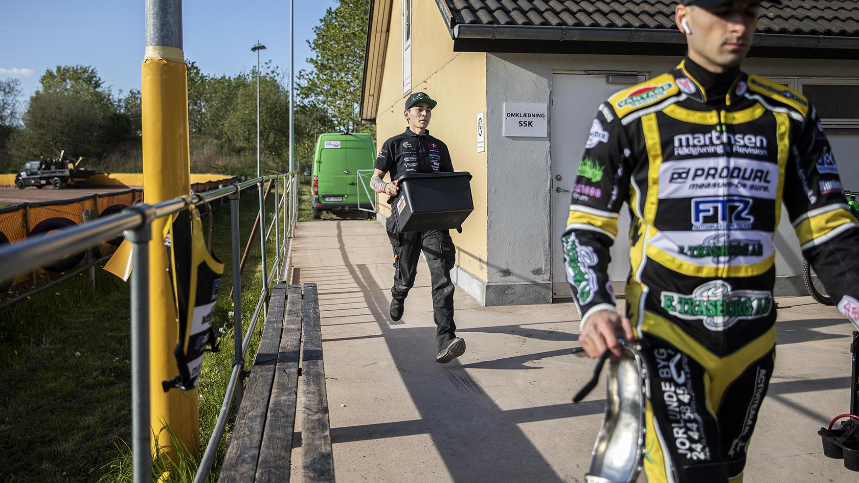 Kim Christensen er i sit livs bedste form. Han har kvittet smøgerne og trænet hele vinteren. Nu kan han yde optimalt, når Marius Nielsen har problemer med cyklen.