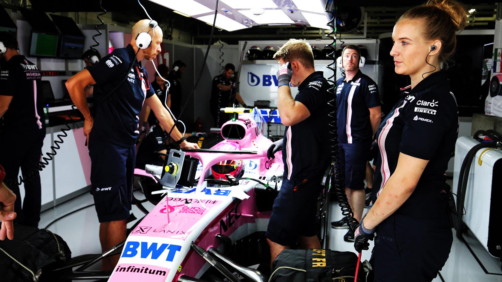 Der er kun 3 motorkonstruktører i Formel 1 (Mercedes, Ferrari og Renault). Hver kører må max bruge 3 motorer under de 21 Grand Prix'er.
