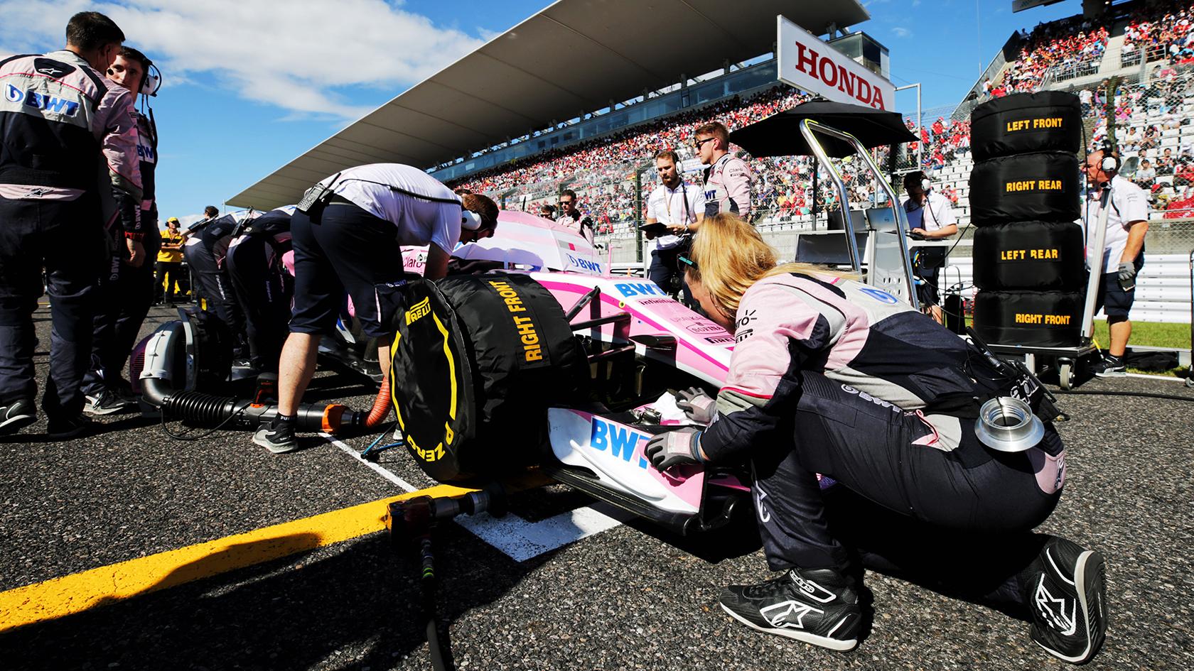 En Formel 1-bil skal kunne bremse fra 300 km/t til komplet stop på 4 sekunder.